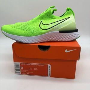 Sz 9 Women's Nike Epic Phantom React Flyknit Shoes